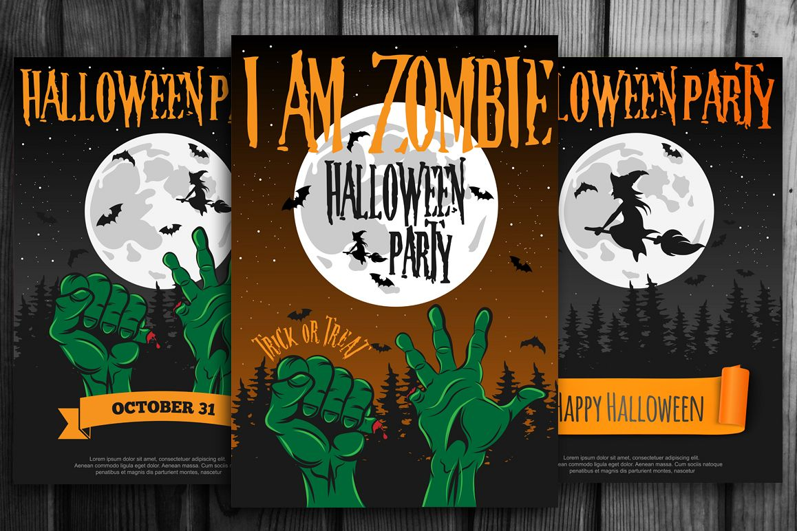 Halloween Party Poster example image 1