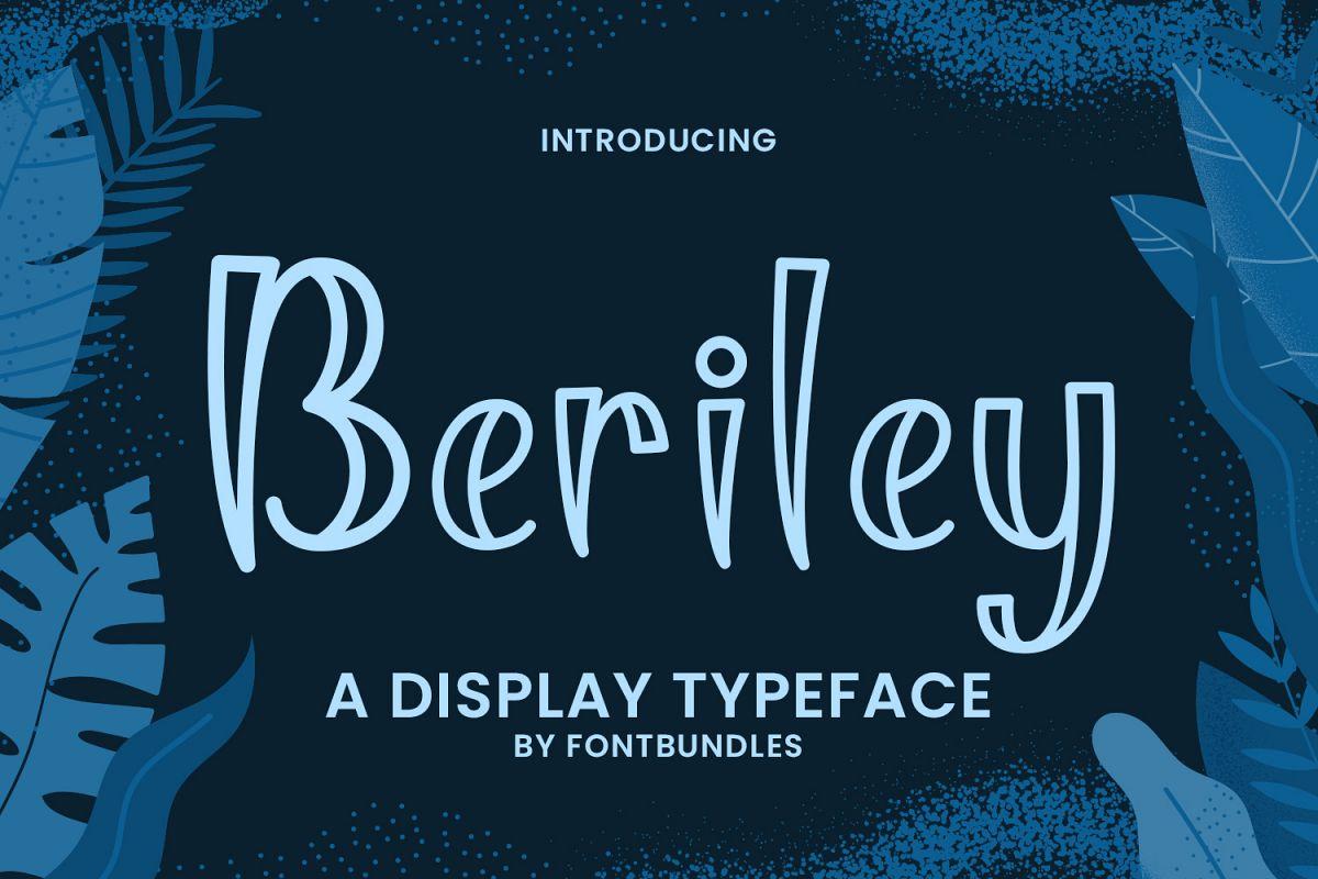 Beriley example image 1