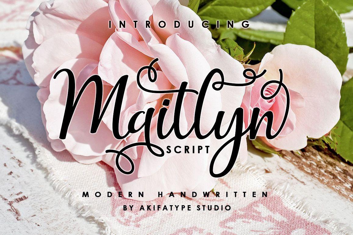 Maitlyn Script example image 1