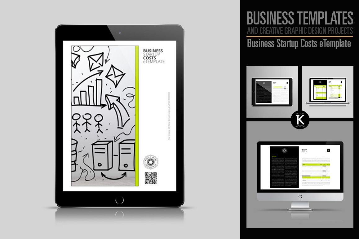 Business Startup Costs eTemplate example image 1