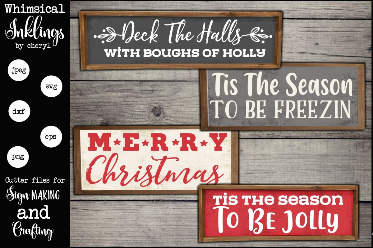 Be Jolly SVG set example image 1