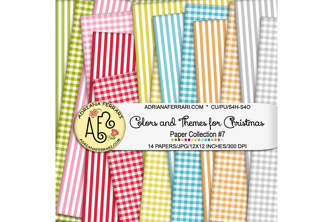 Colors and Themes for Christmas Papers 7 example image 1
