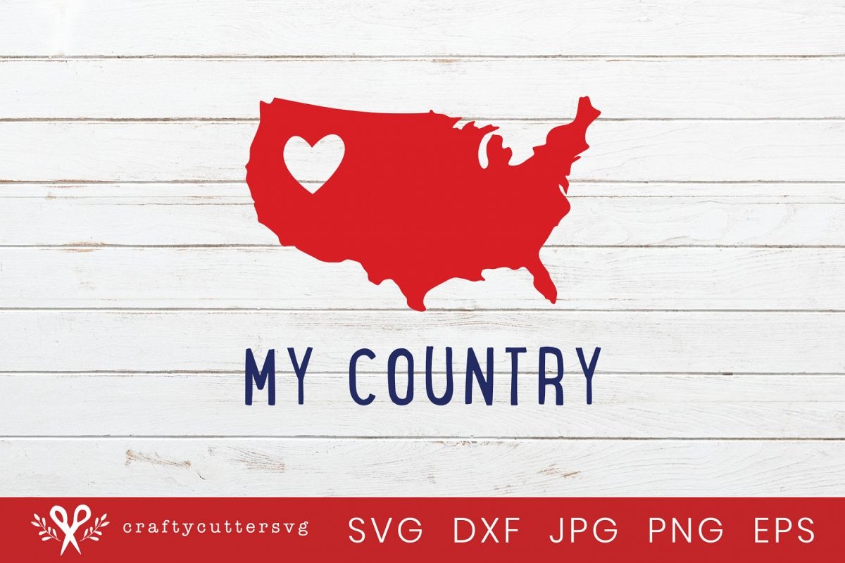 4th of july country. My svg th independence