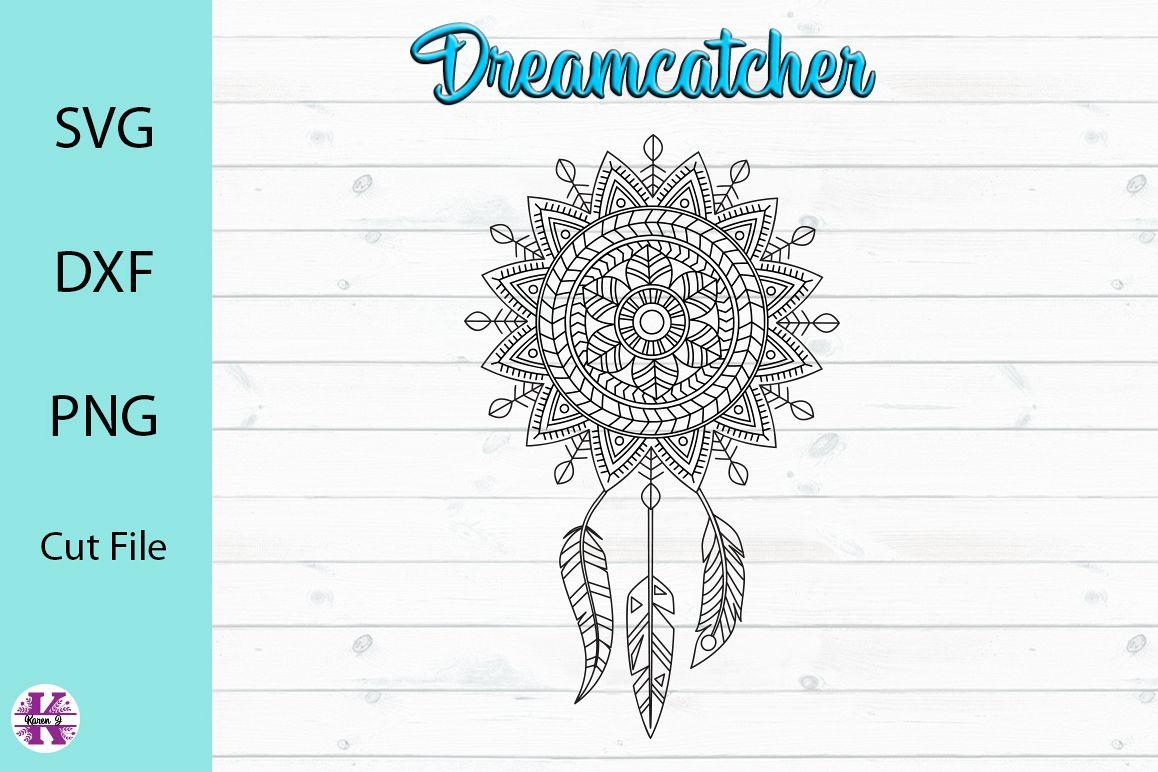 Dreamcatcher SVG Cut File example image 1