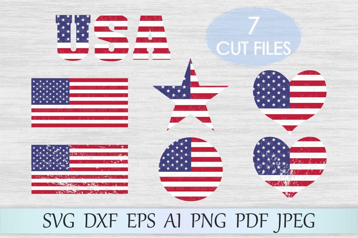 American flag svg, Flag svg, American flag clipart, USA flag example image 1