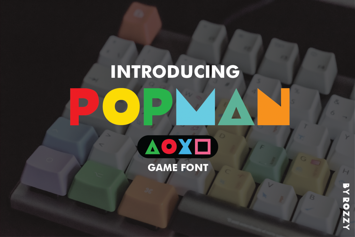 Popman Game Font example image 1