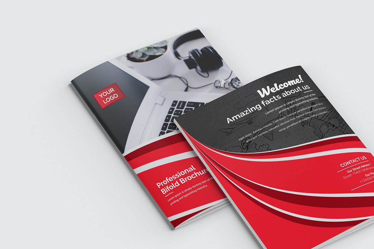 bifold brochure by artattacked design bundles