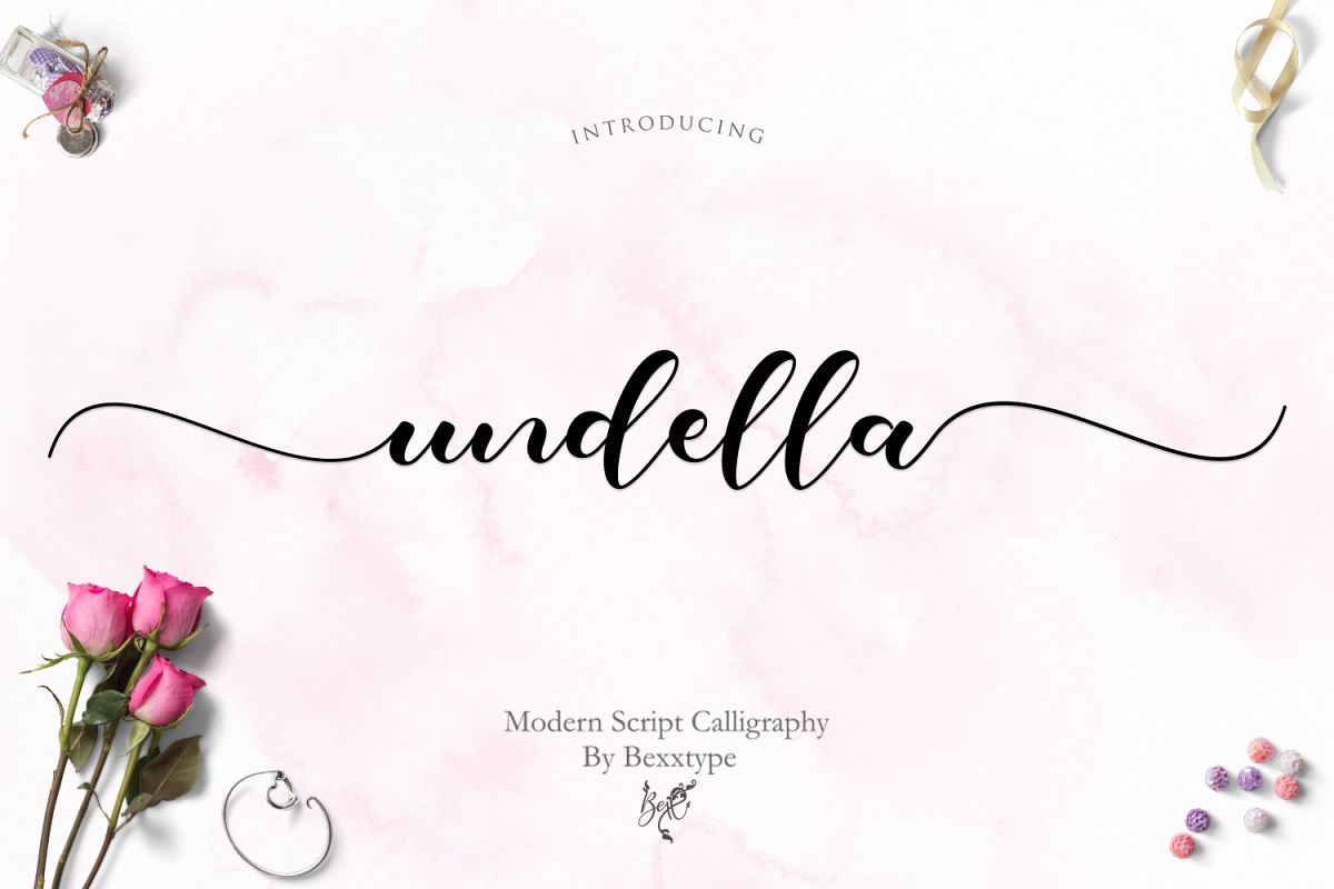 Undella Script example image 1