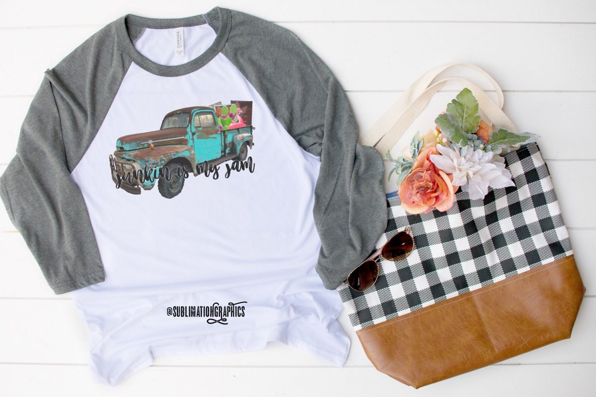 Junkin' Is My Jam Sublimation Digital Download example image 1