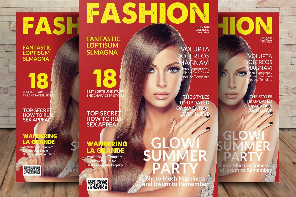 Magazine Template example image 1