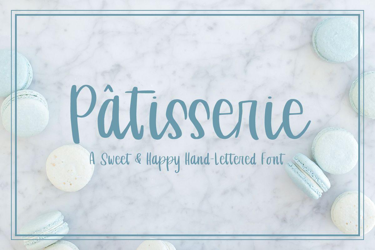 Patisserie Script example image 1