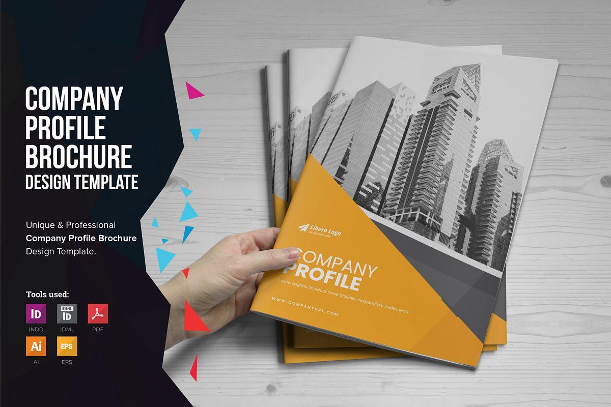Company Profile Brochure v10 example image 1