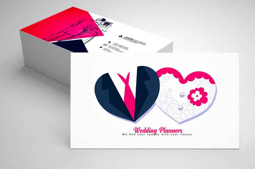 Wedding Planner's Business Card example image 1
