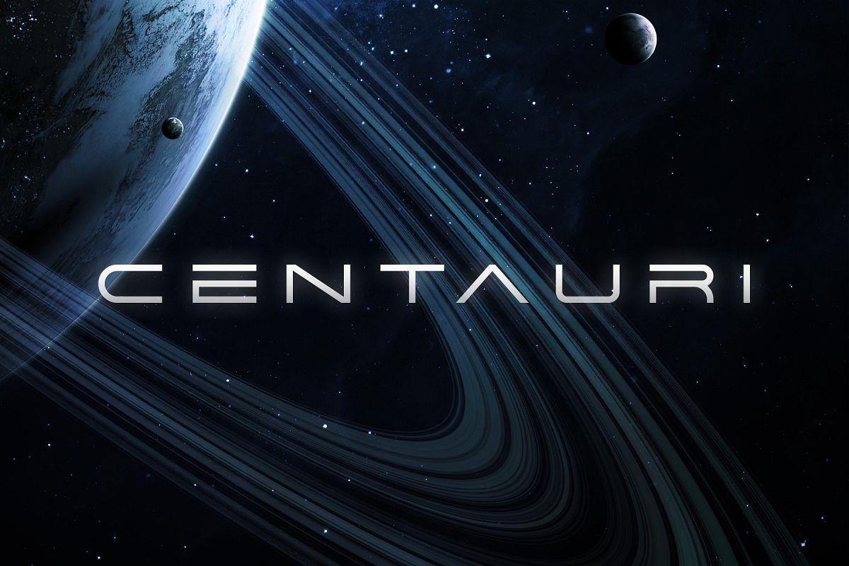 Centauri Typeface example image 1