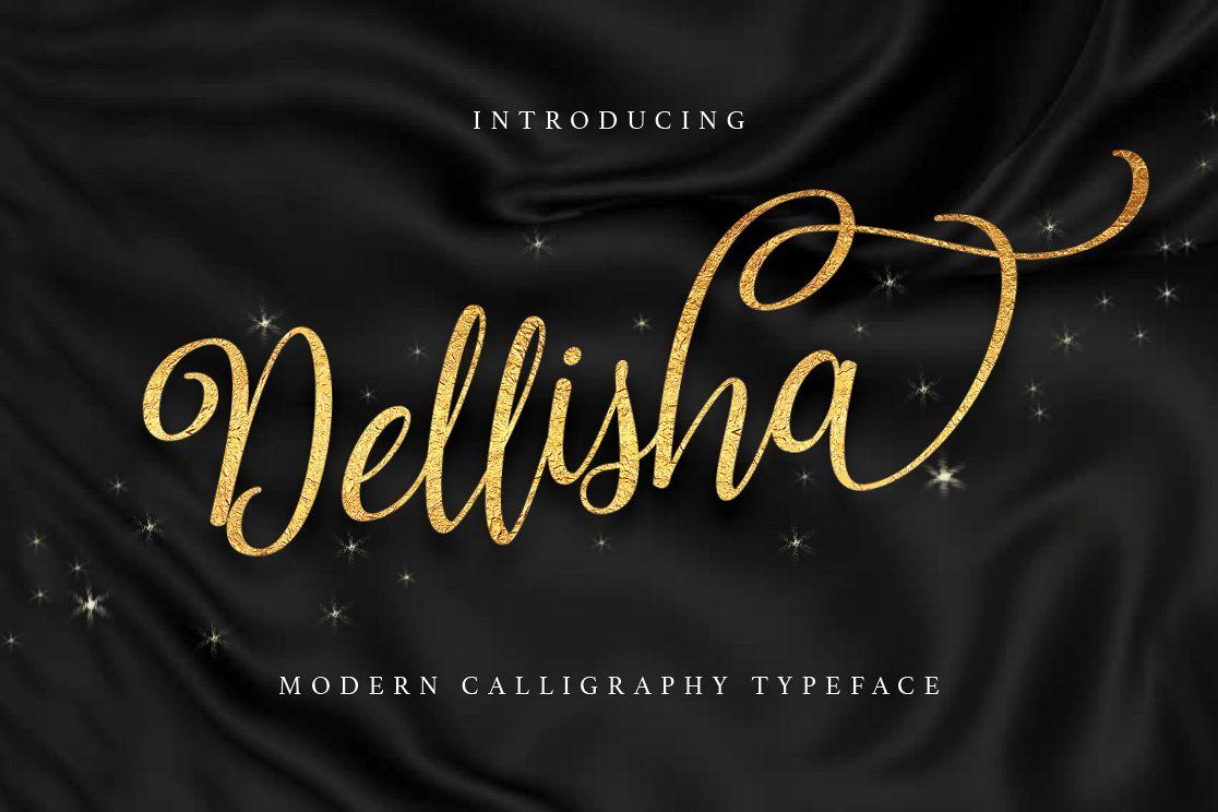Dellisha Script example image 1