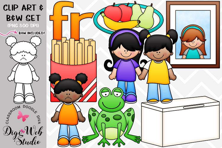 Clip Art / Illustrations - R Blends - fr Phonics example image 1
