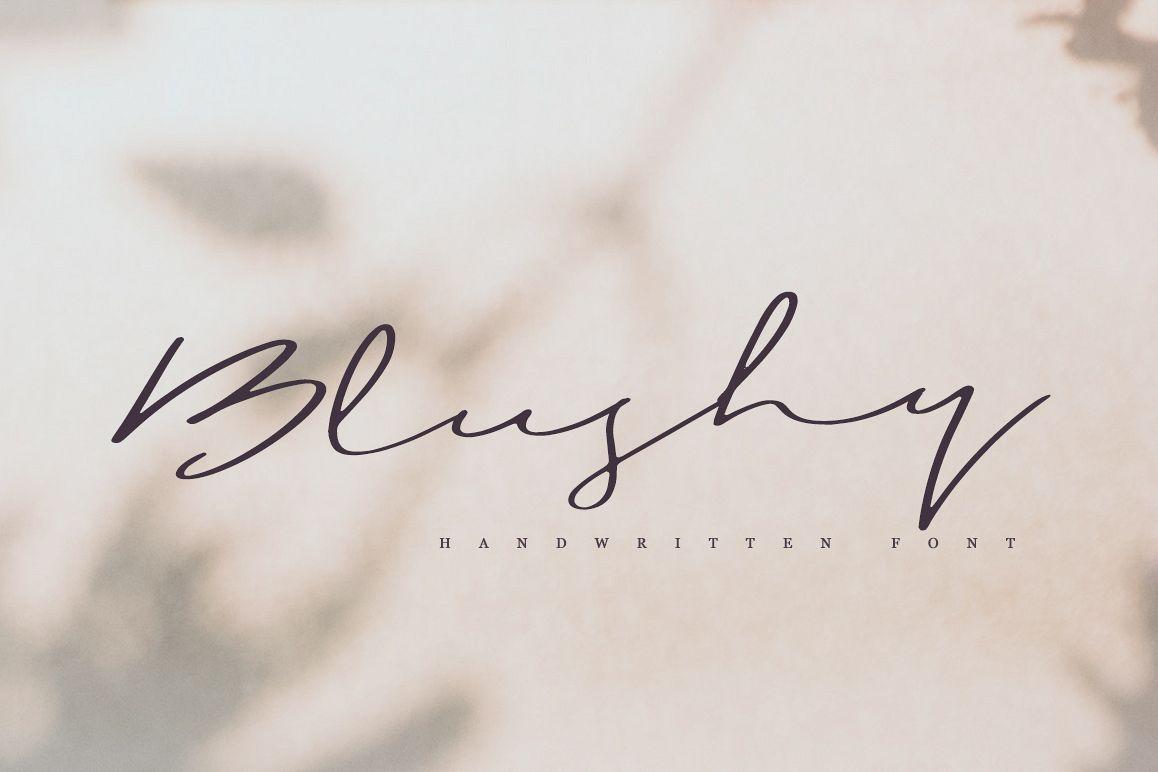 Blushy example image 1