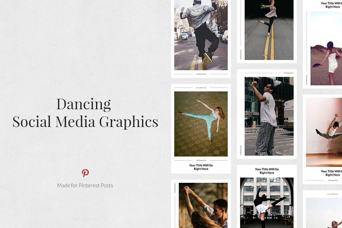 Dancing Pinterest Posts example image 1