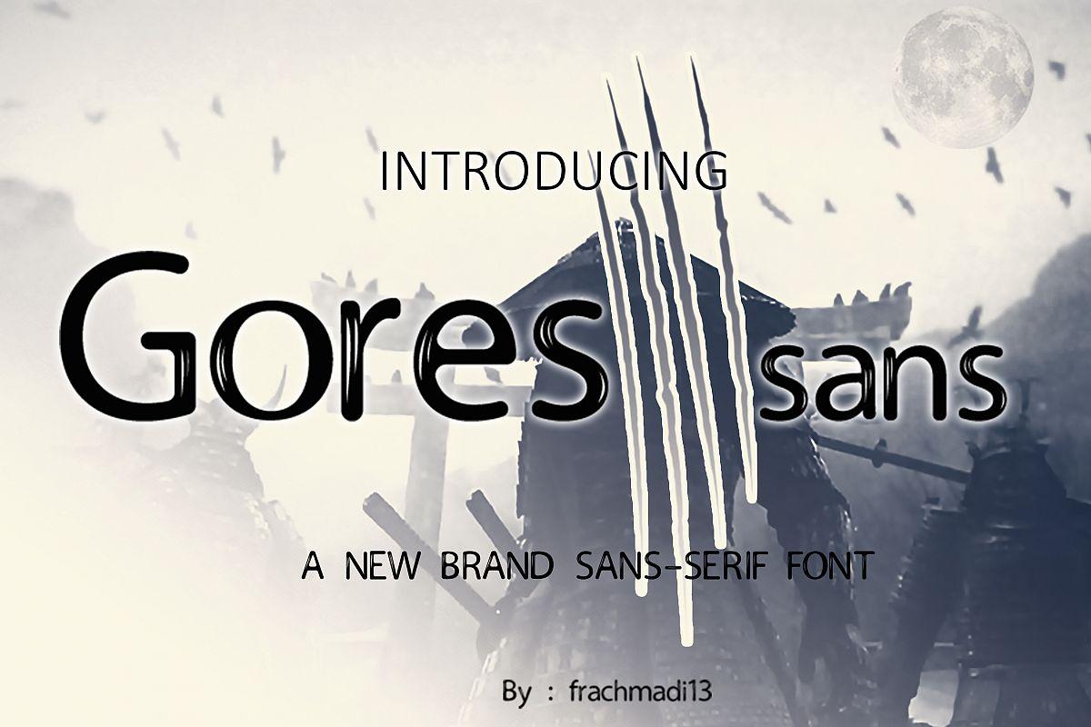 Gores Sans example image 1