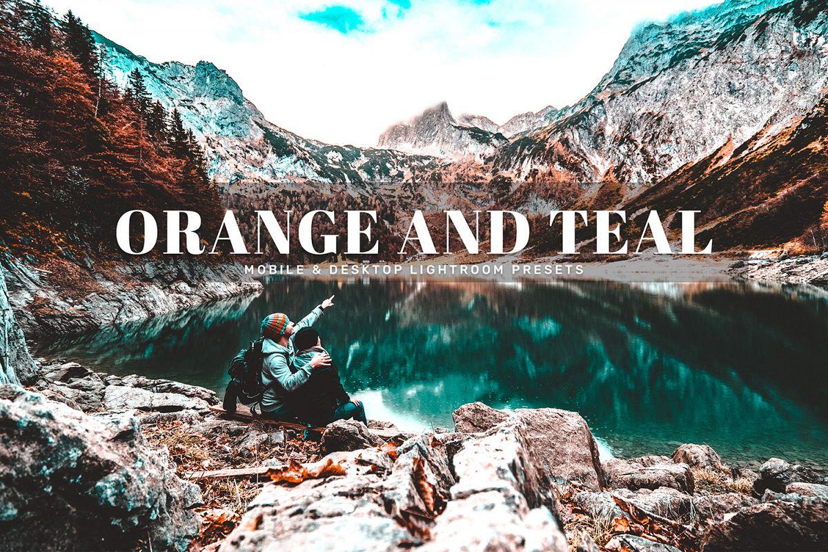 Orange And Teal Mobile & Desktop Lightroom Presets example image 1
