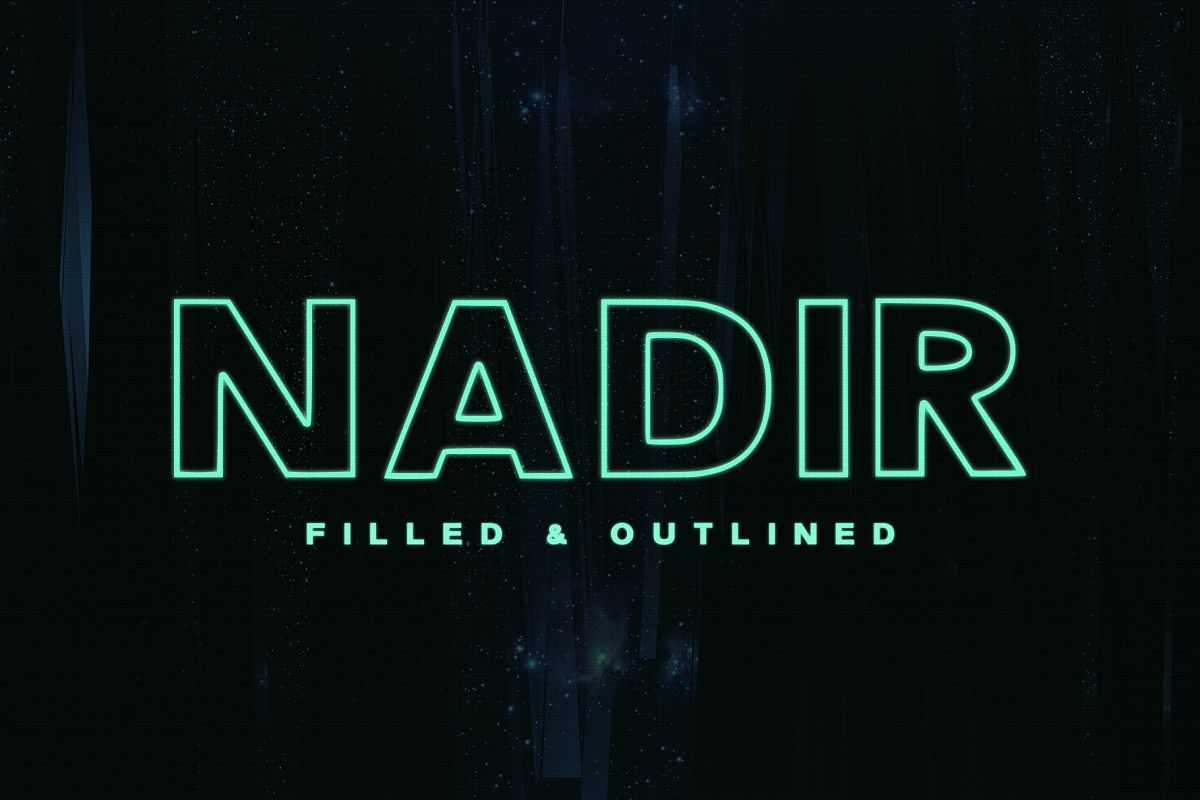 Nadir Typeface example image 1