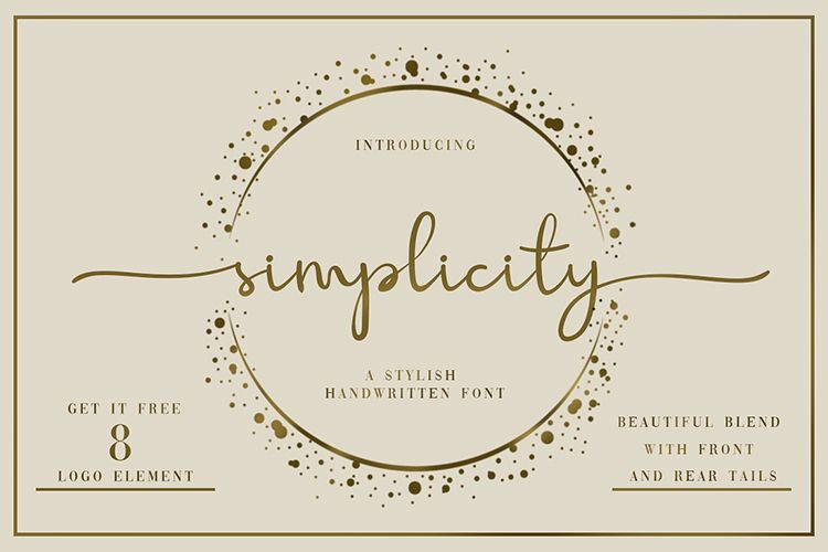 Simplicity Handwritten Font example image 1