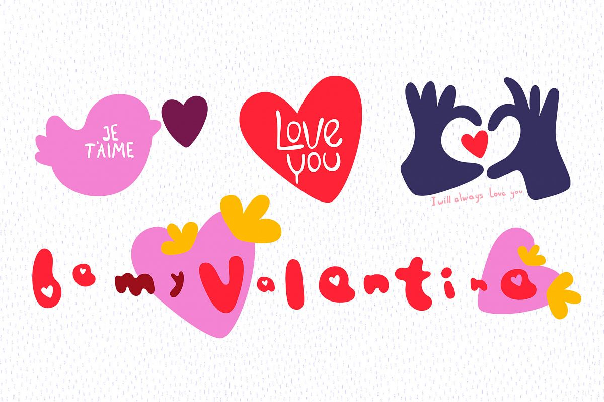 Valentine's Day Vector_part 02 example image 1