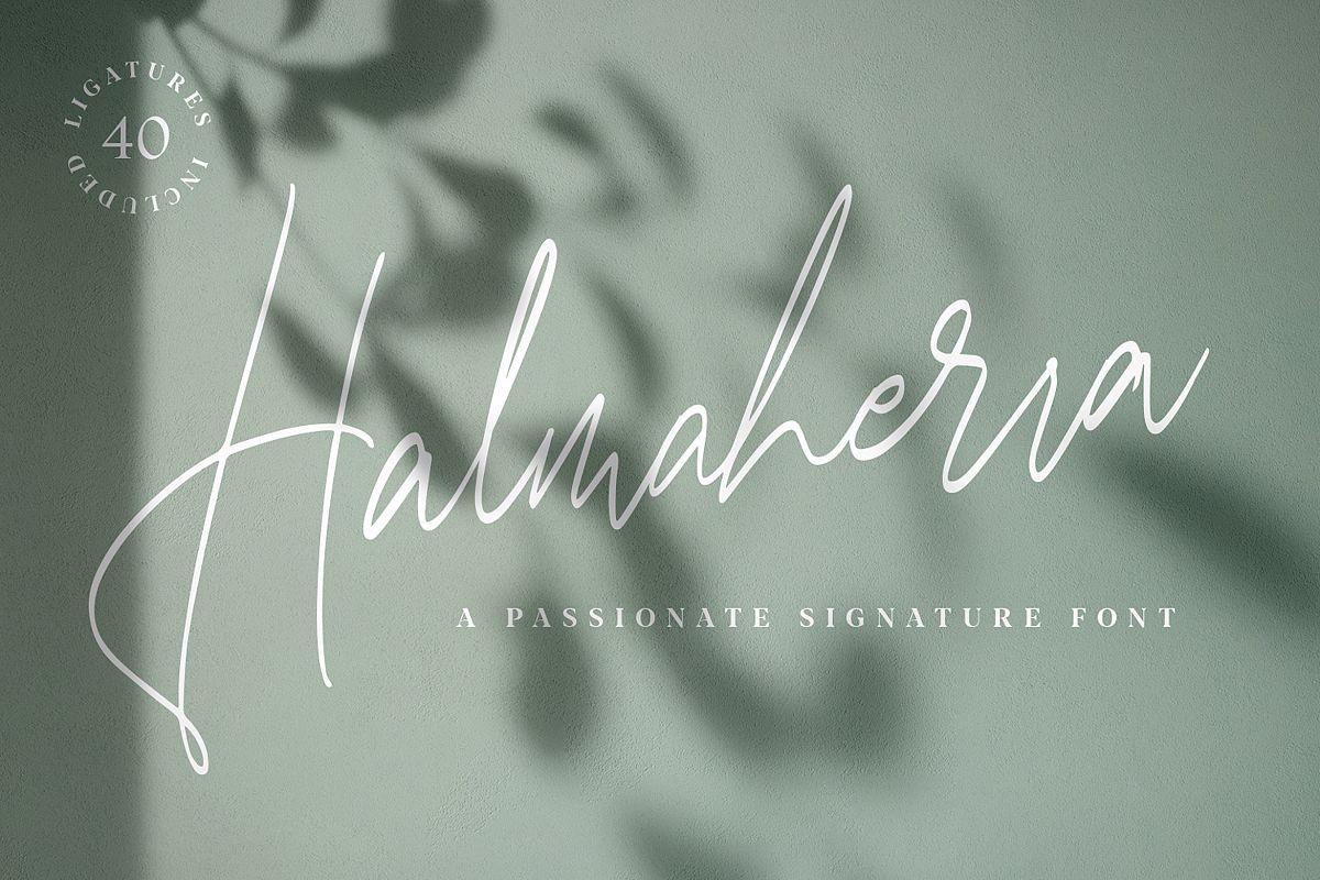 Halmaherra Signature example image 1