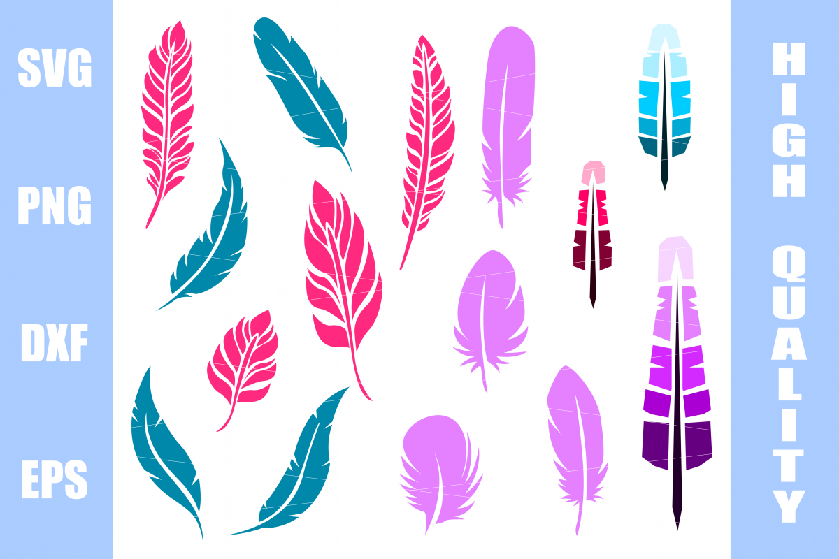 Feather SVG  example image 1