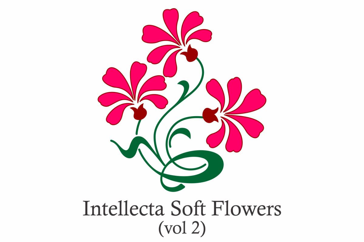 Intellecta Soft Flowers vol 2 example image 1