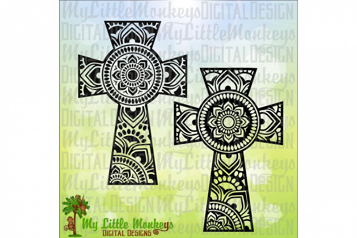 Mandala Cross example image 1