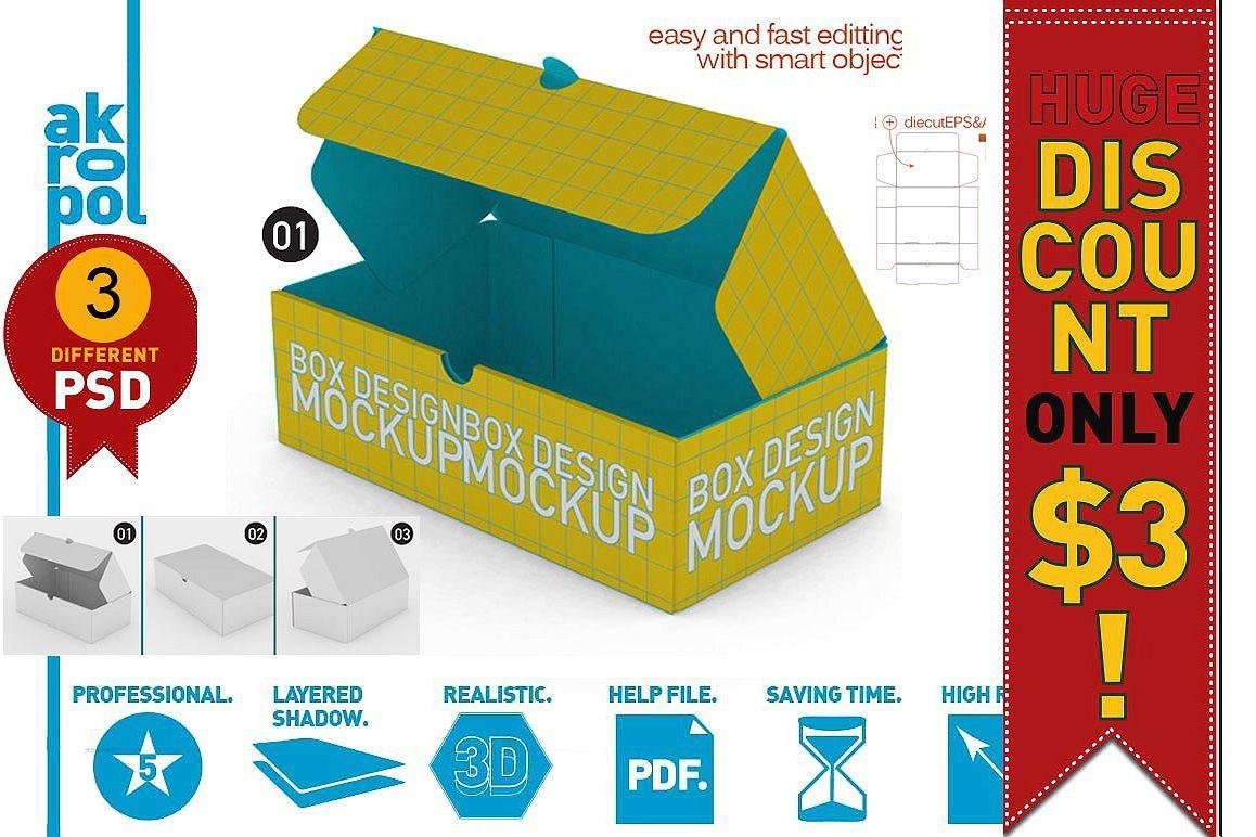 Box Mock Up example image 1