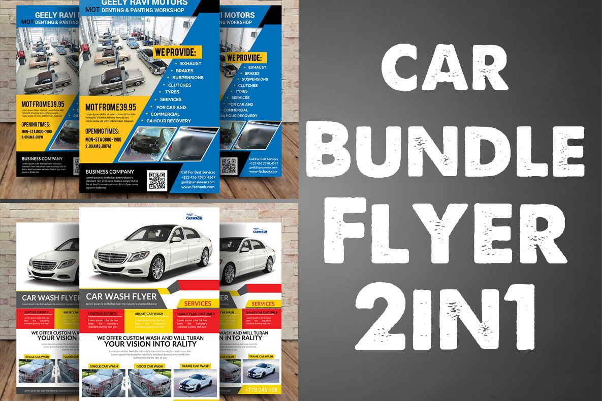 Car Bundle Folder 2in1 example image 1