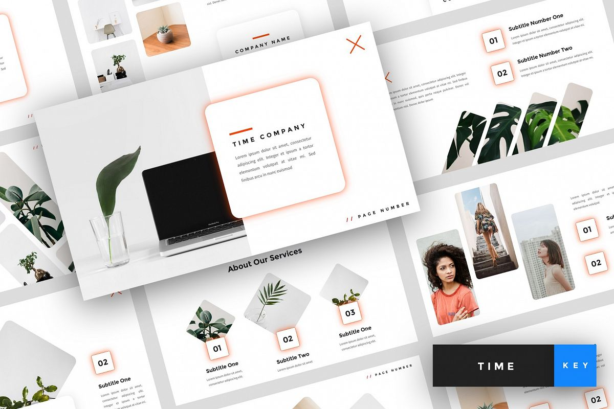 Time - Creative Keynote Template example image 1
