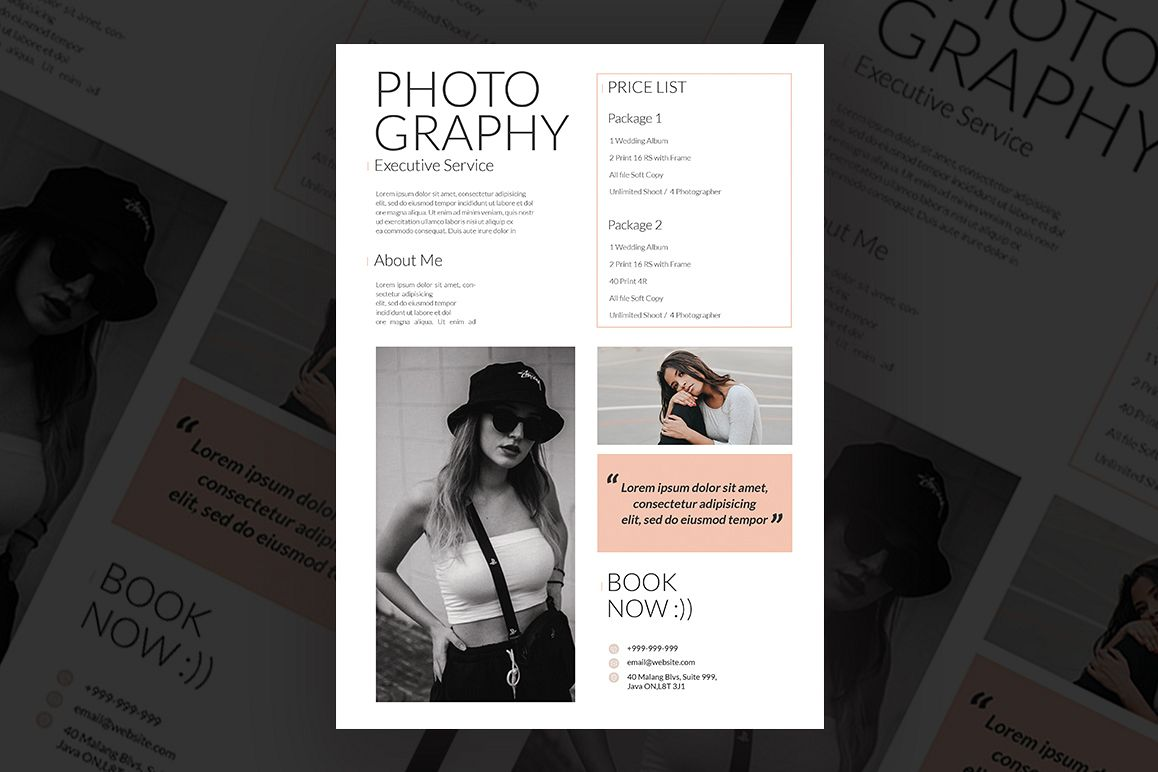Photography Flyer example image 1