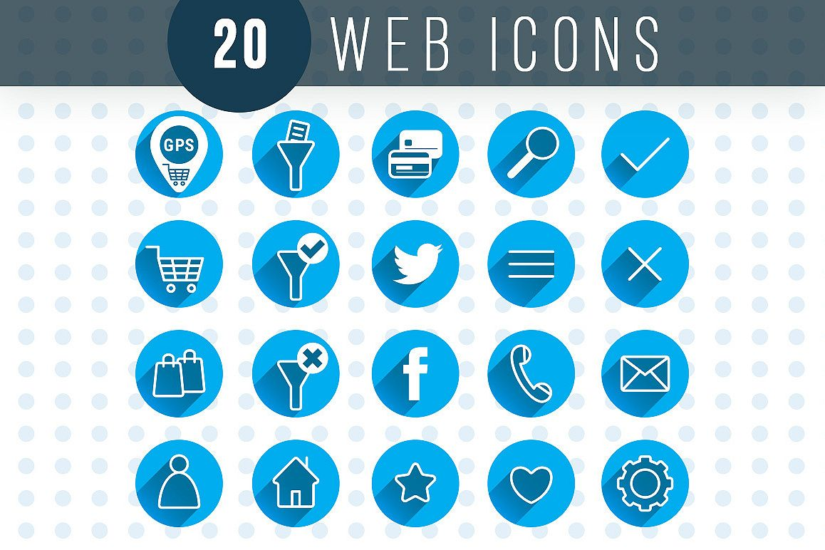 Web Icons - Vector Design example image 1