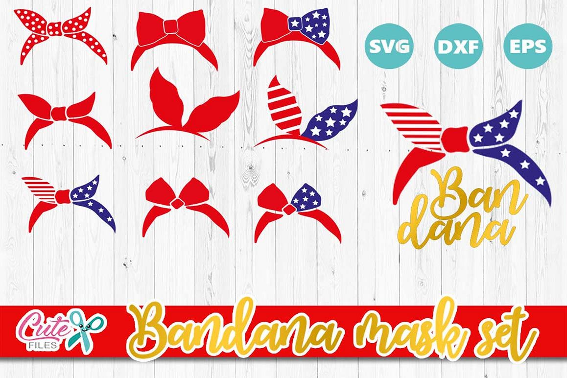 Patriotic Bandana 4th Of July Svg Country Farm Svg 4