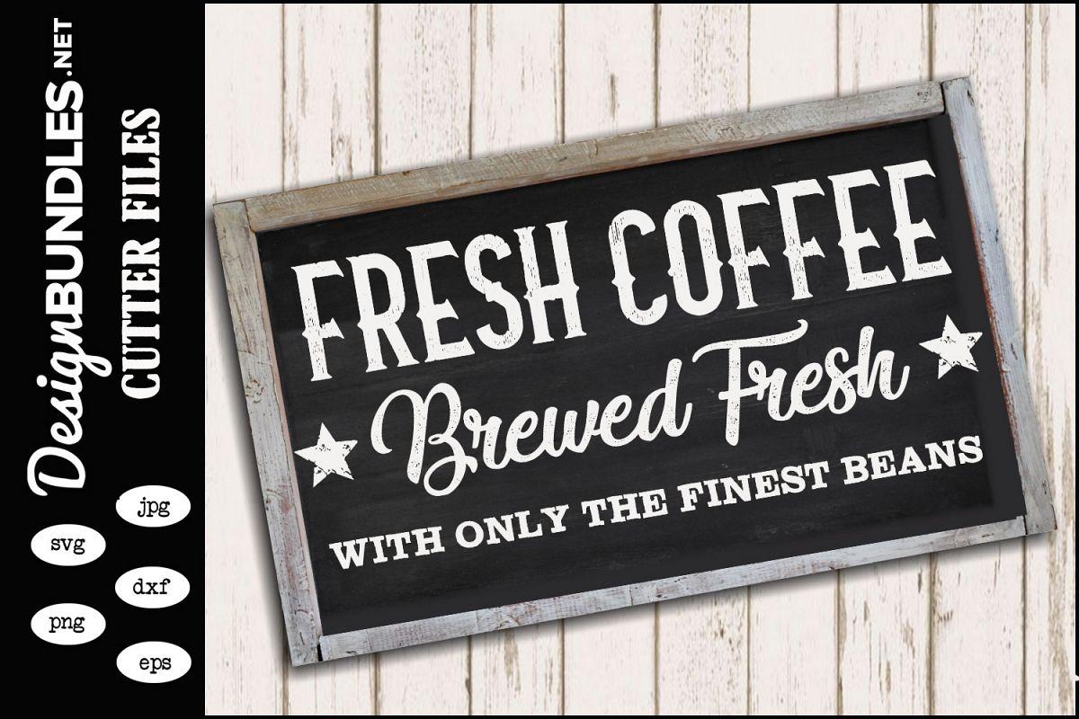 Fresh Coffee SVG example image 1