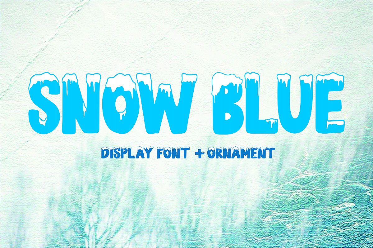 SNOW BLUE example image 1