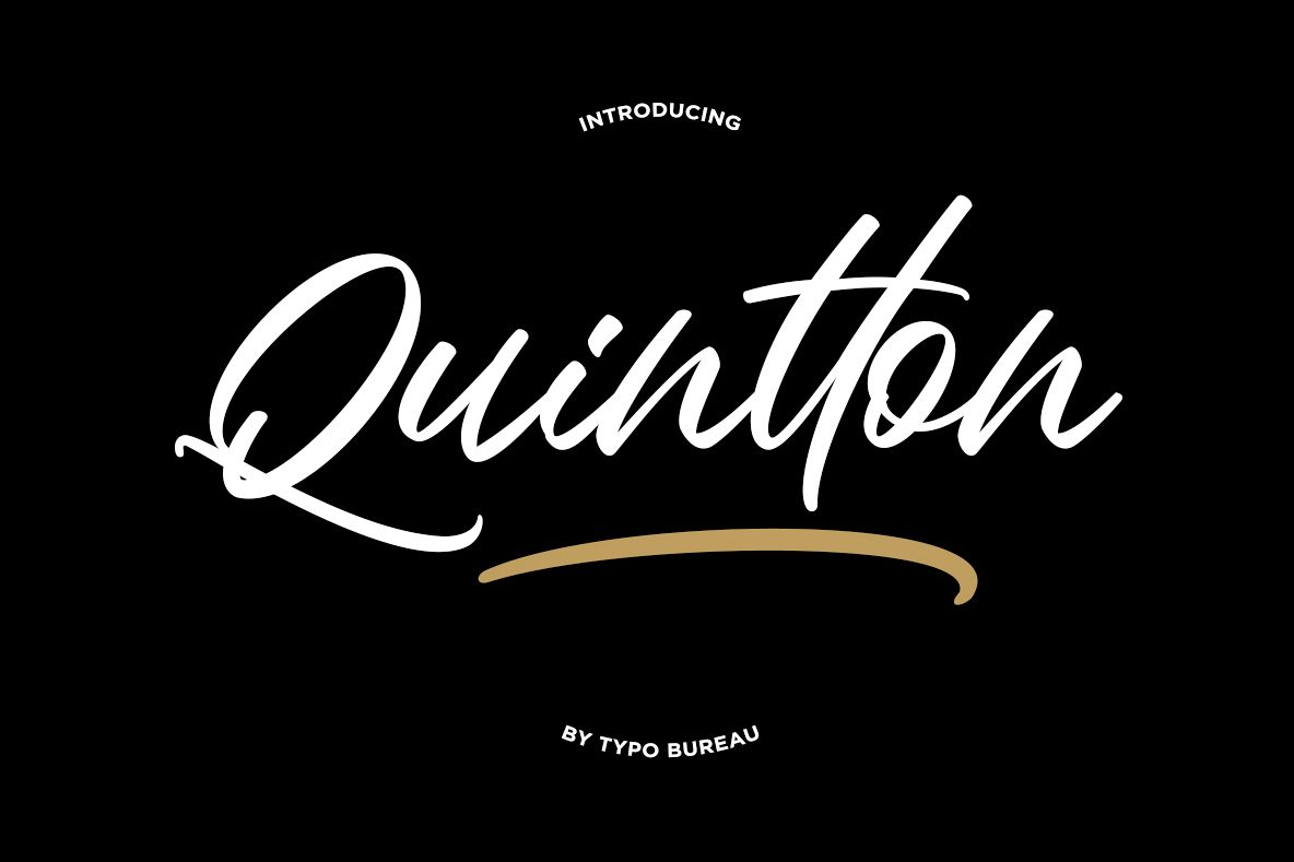 Quintton Script example image 1