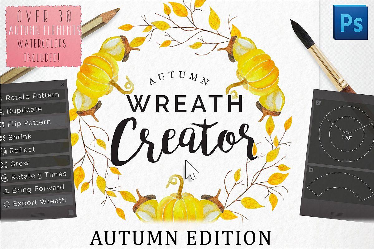 Autumn Wreath Creator example image 1