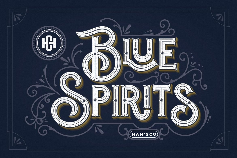 Blue Spirits example image 1