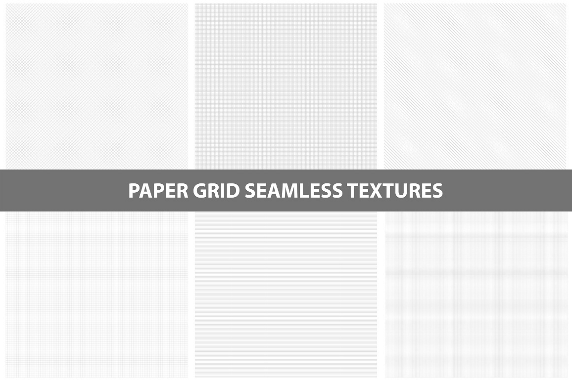 Paper textures. Seamless collection. example image 1
