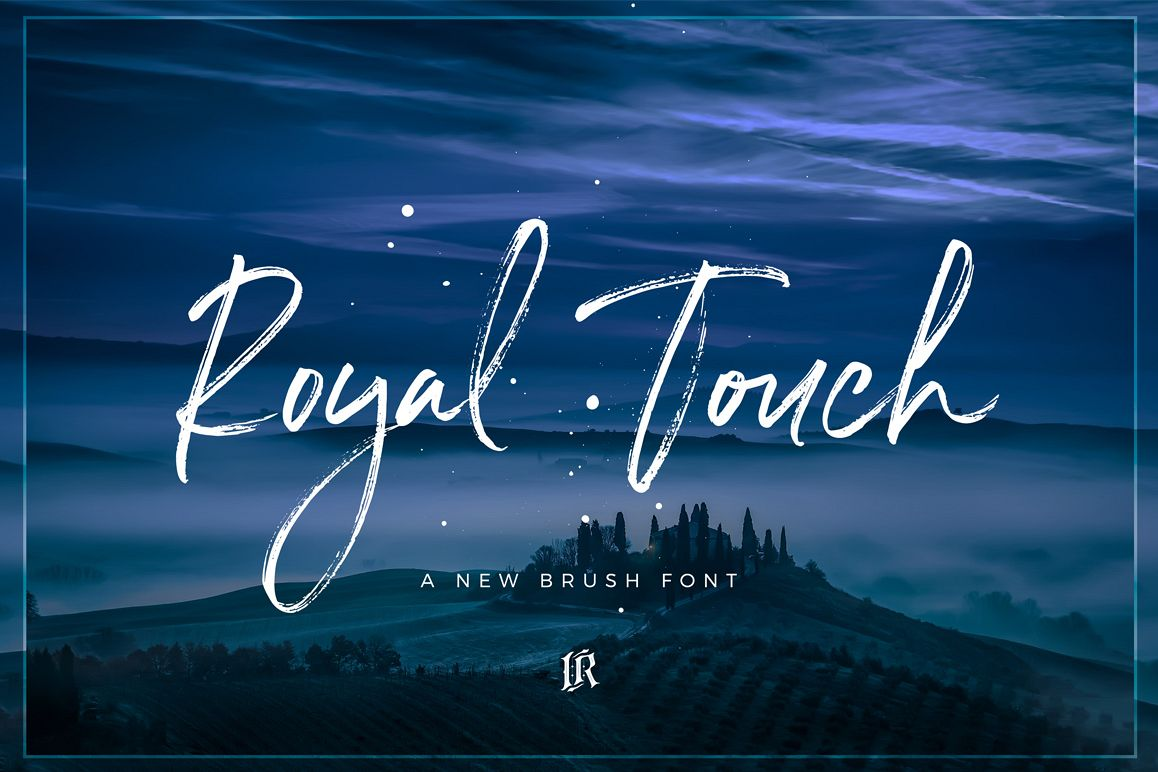 Royal Touch Font example image 1