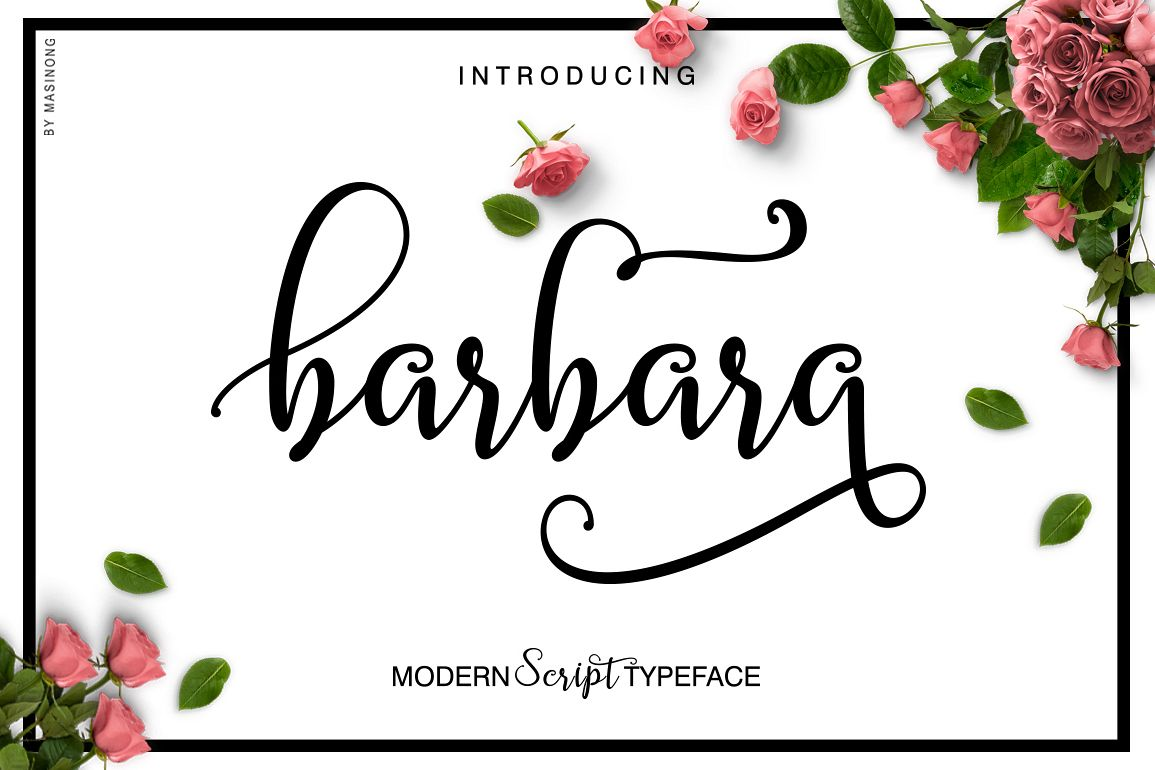 Barbara Script example image 1