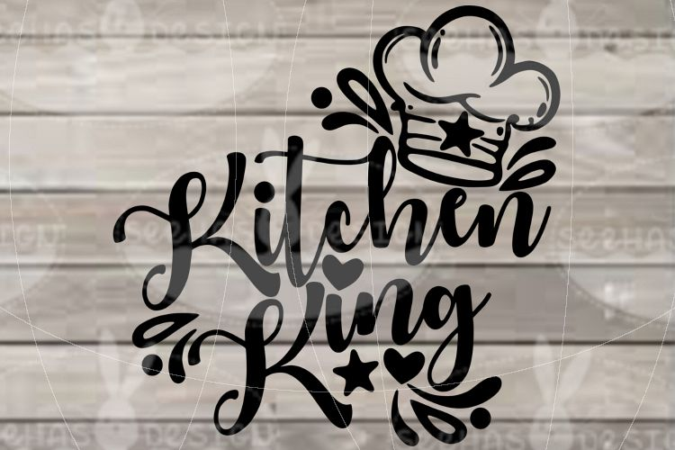 File Kitchen King SVG EPS PDF example image 1