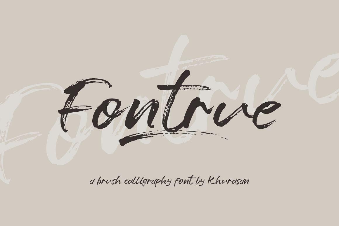 Fontrue example image 1