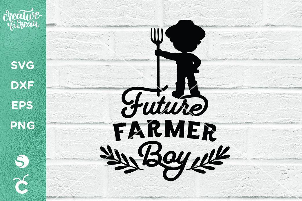 Future Farmer Boy SVG DXF, Future Farmer SVG