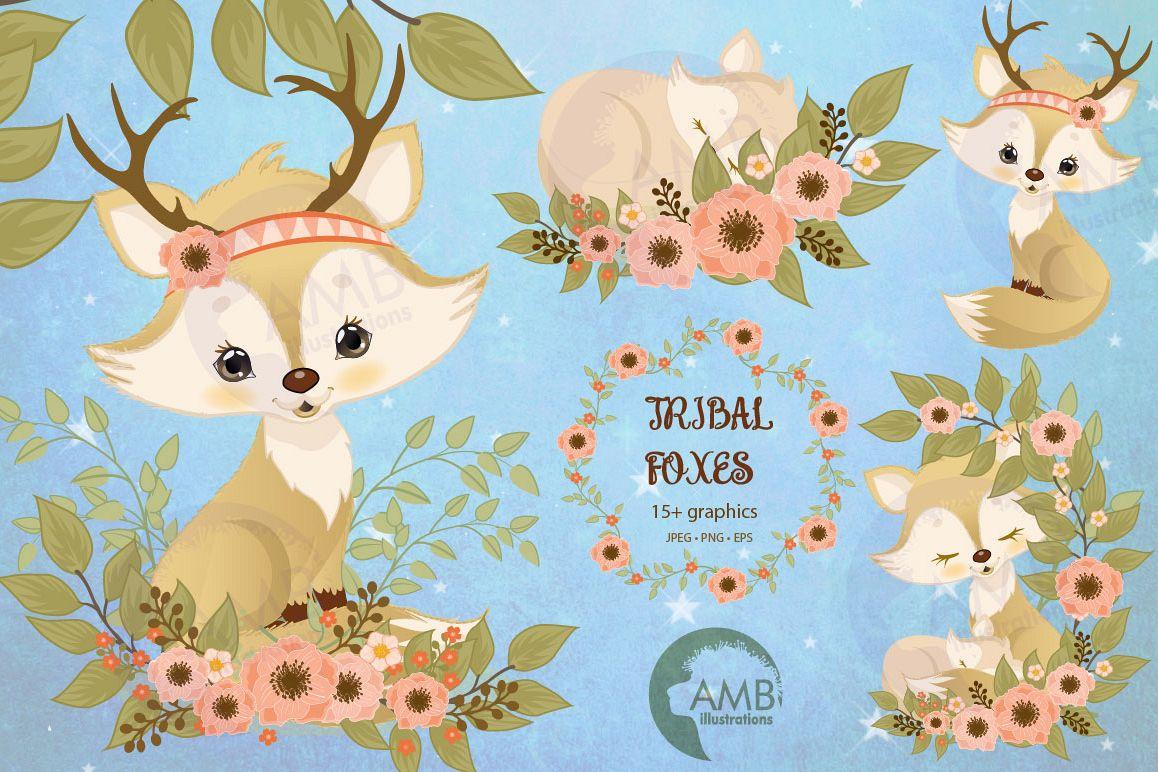 Boho Chic Spring Fox example image 1