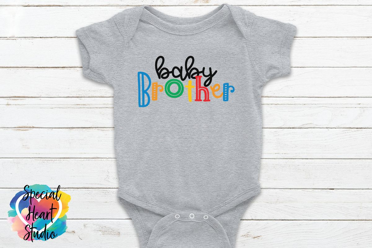 Baby Brother - A family and sibling SVG example image 1
